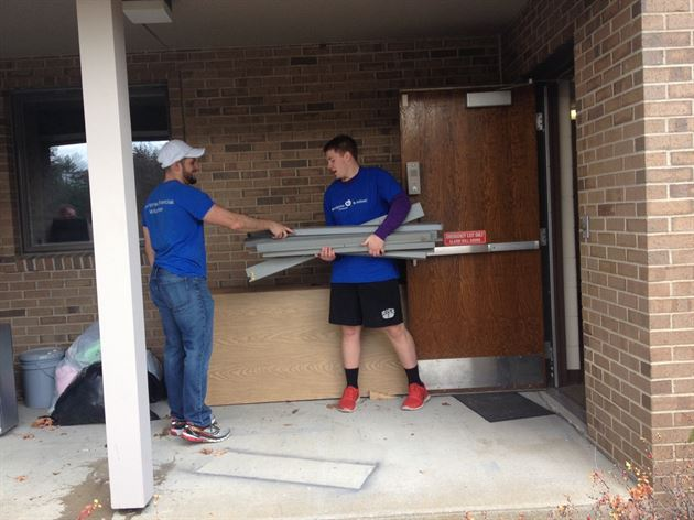 Day of Service at Anne Marie House