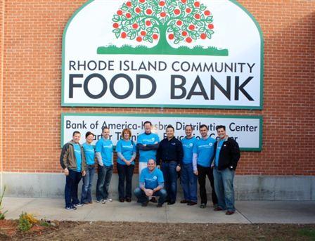 RI Food Bank Volunteer Day