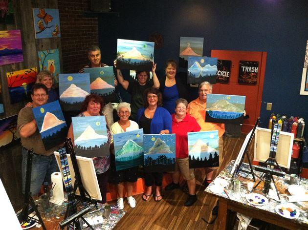 Muse Paint Bar 8-18-15