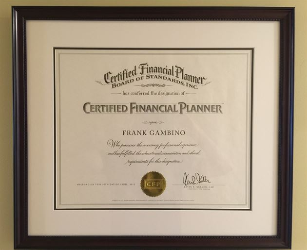 CERTIFIED FINANCIAL PLANNER CFP certification - psychologyarticles.info