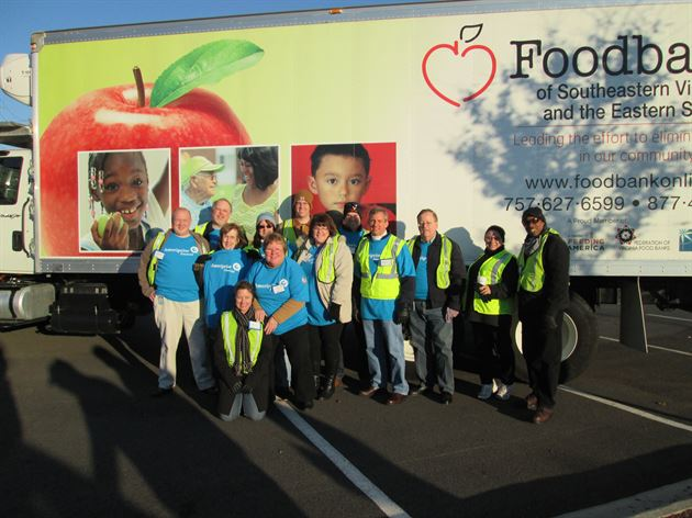 National Day of Service Food Drive