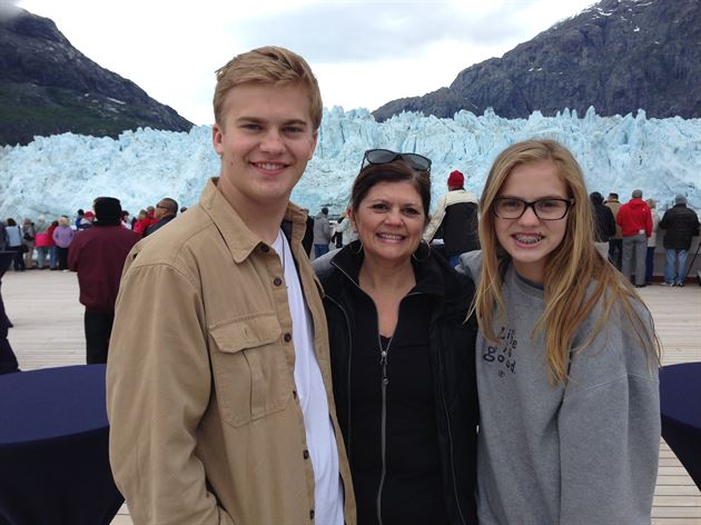 Family trip to Alaska, June 2014