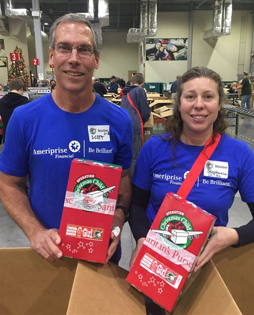 Samaritans Purse volunteers 2016