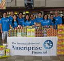Food drive for Hawaii Food Bank.