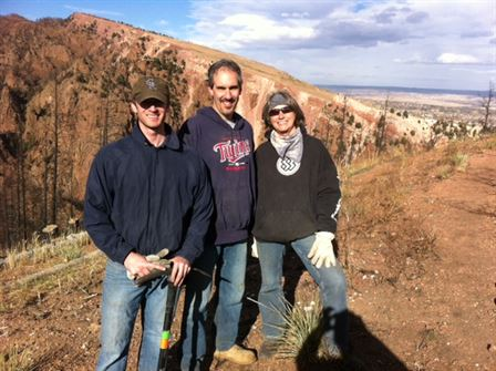 Glen Eyrie Service Project 11/2013