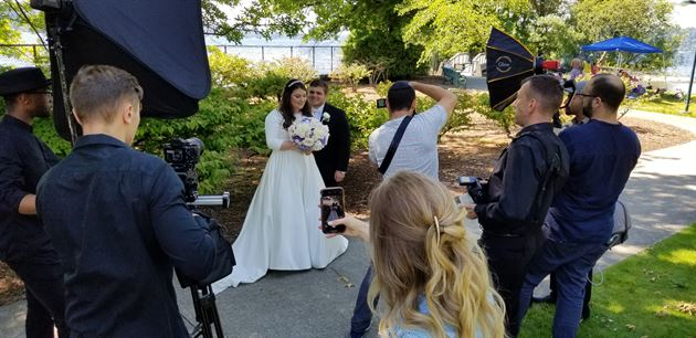 My son Noah's wedding