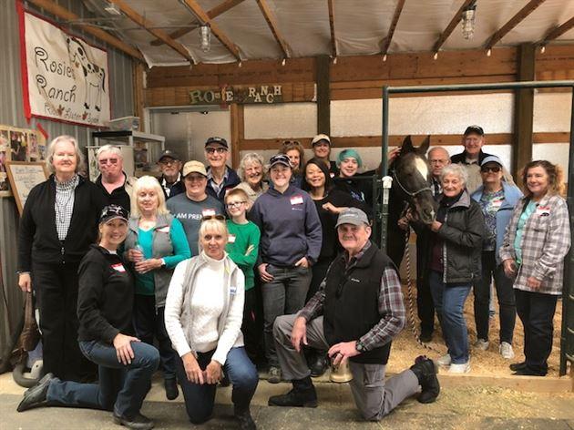 Rosie's Ranch Volunteer & BBQ Event