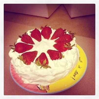I love to bake!