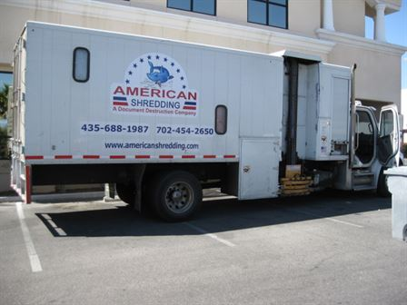 May 2014 - shredding event