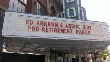 Fargo Theatre Retirment Event!