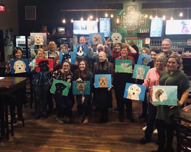Paint Your Pet Event 11-07-2019