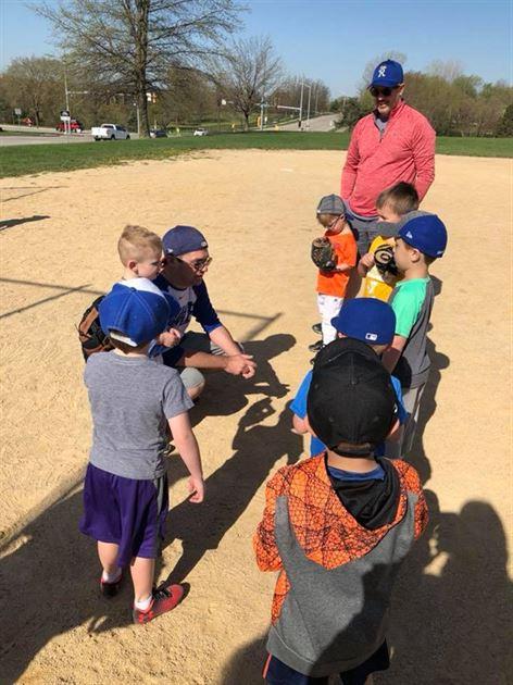 Coaching T-Ball