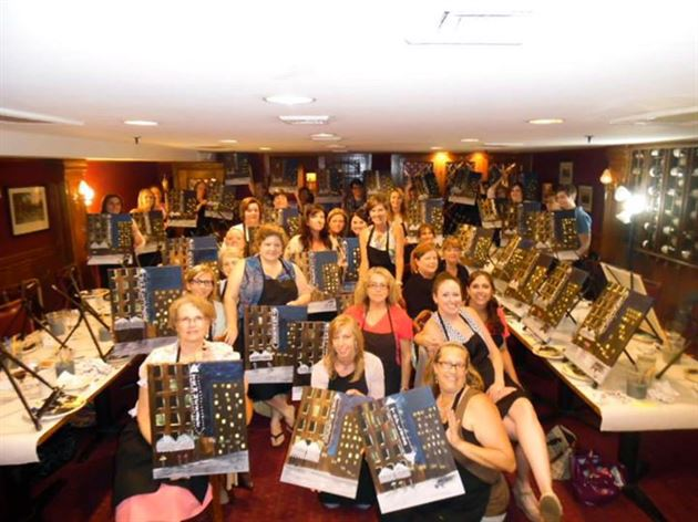 2015 Wine and Canvas Night