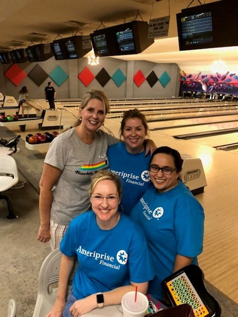 Ruby's Rainbow Bowling Event 2018