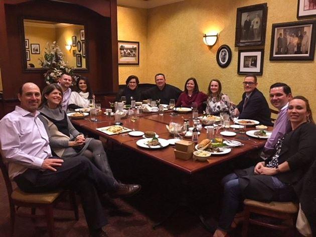 Team Dinner at Bartolino's