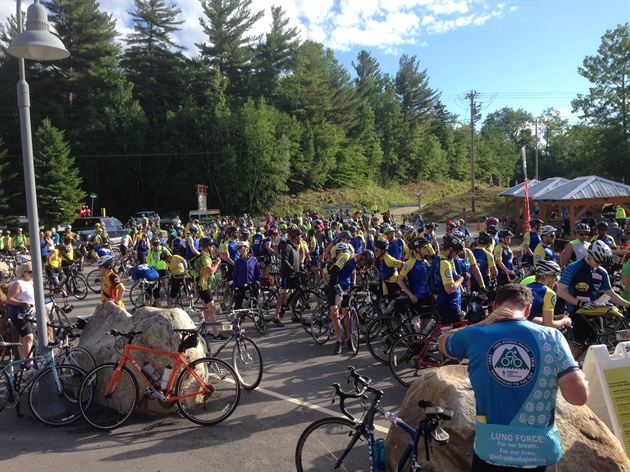 Trek Across Maine 2016