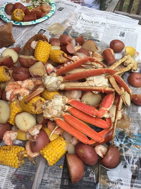 Birthday Low Country Boil