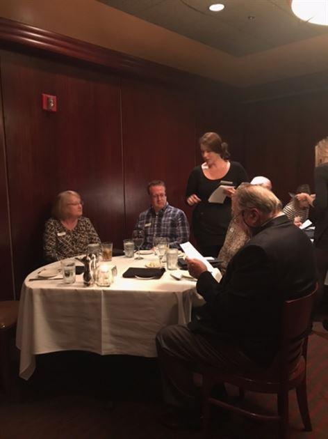 Sullivan's Dinner & Seminar 11/2/17