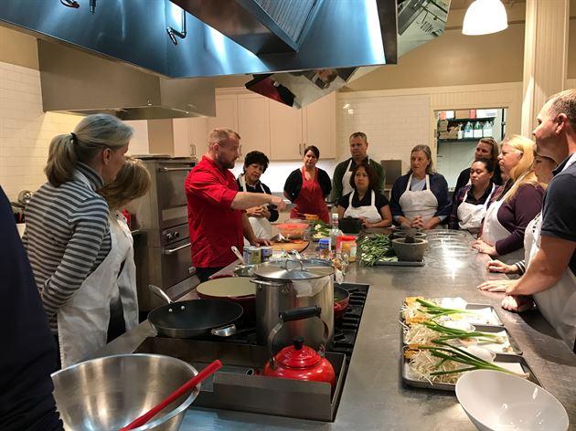 January Cooking Class @Sur La Table