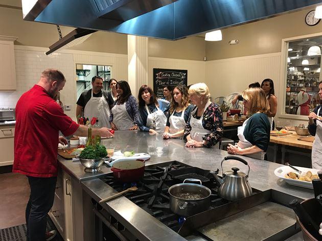Feb. Cooking Class @Sur La Table