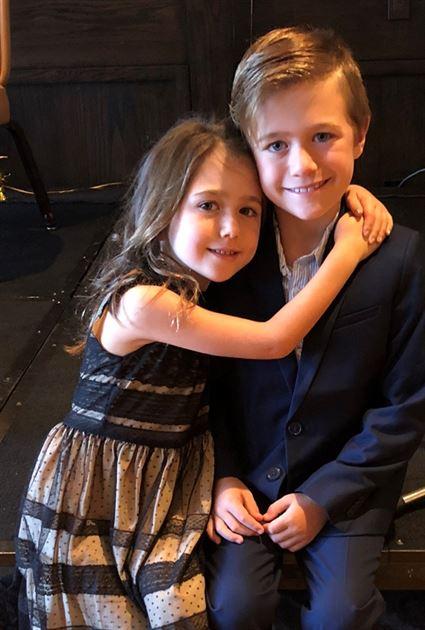 Frankie & Stella at Papa's 100th
