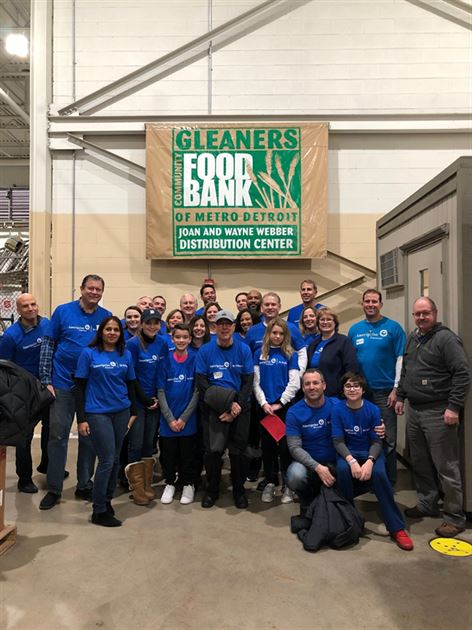National Day of Service at Gleaners