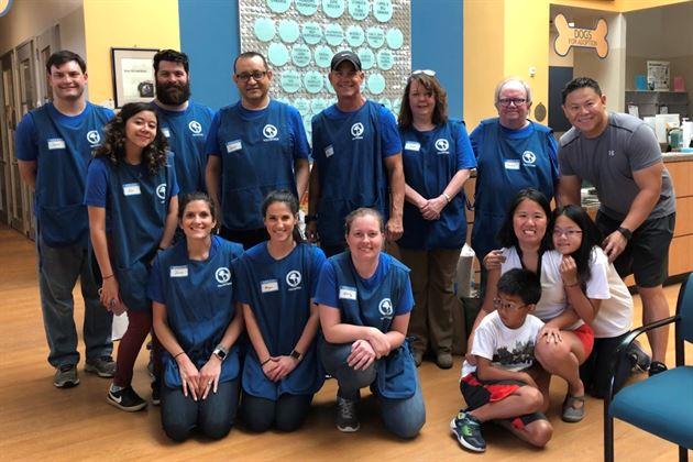 Volunteering at CAPs Houston