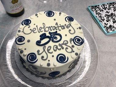 Celebrating 35 Years in Busines