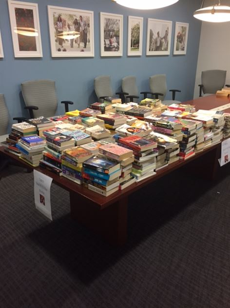 National Day of Service Book Drive