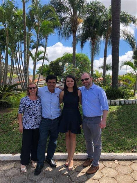 Brazil-Family, Bahamas-Wedding :)