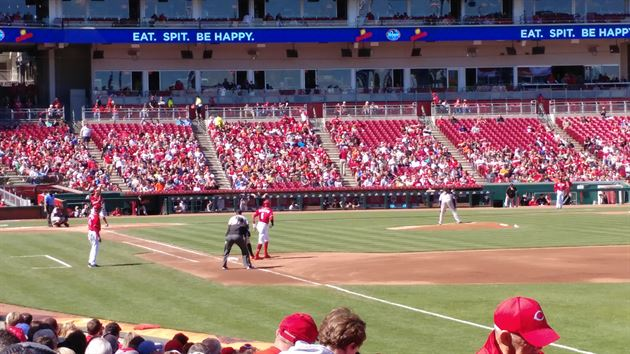 Reds Game 5-7-17