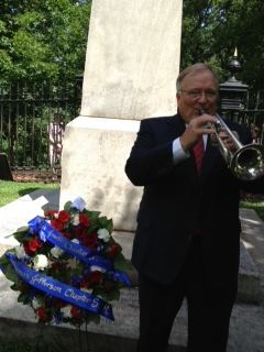 Played Taps on the 4th of July