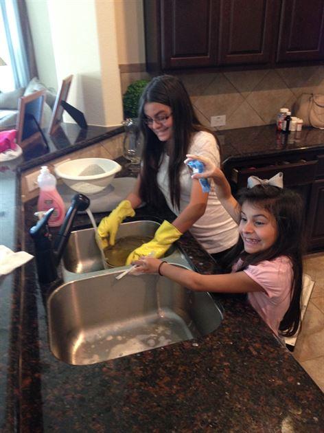 My children having fun