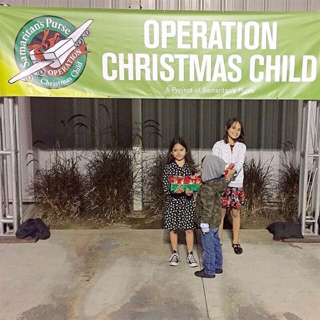 Operation Christmas Child 2016
