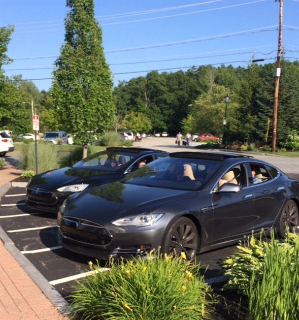 Tesla Test Drive Event