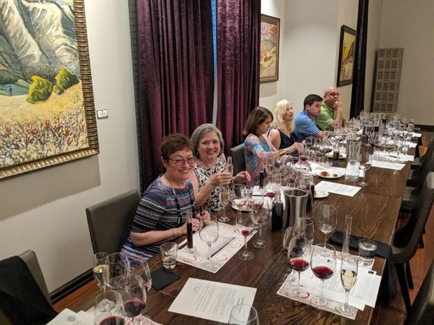 Wine Tasting - Donna & Guests