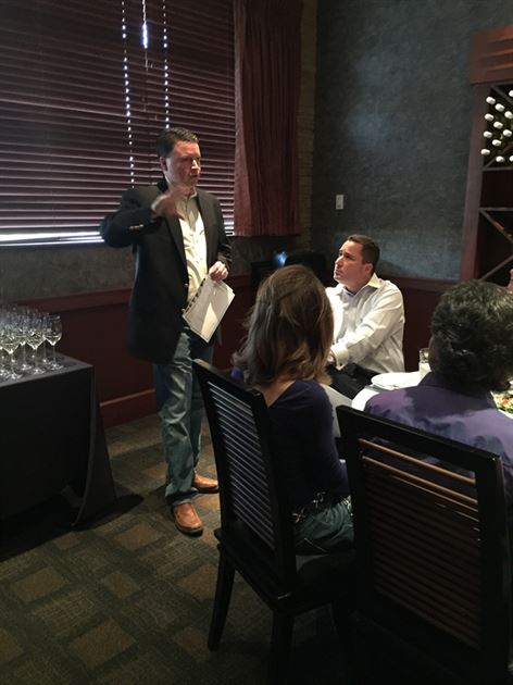 Wine Tasting with Tim King 4/12/18