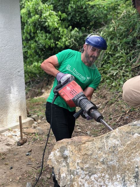 Hurricane Relief in St. Thomas