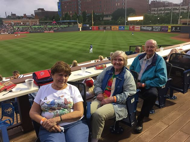 Akron Rubber Ducks Baseball Game