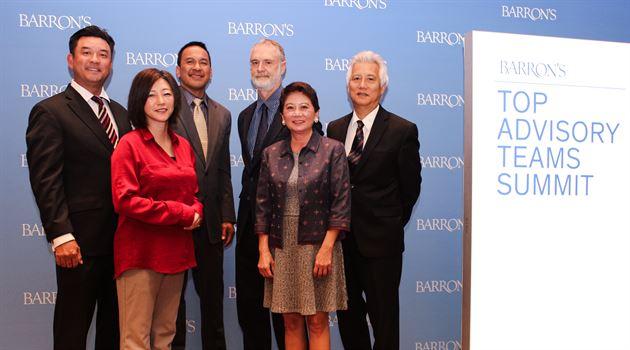 Barron's Top Advisory Team Feb 2018