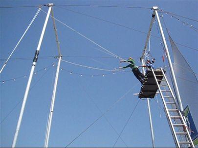 Trapeze Santa Monica Pier