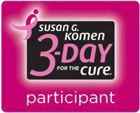 Susan Komen-3 Day Walk for the Cure