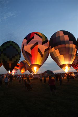 Great Midwest Balloon Fest Balloons