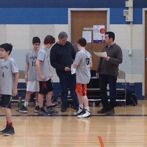 Coaching My Sons' Basketball Team