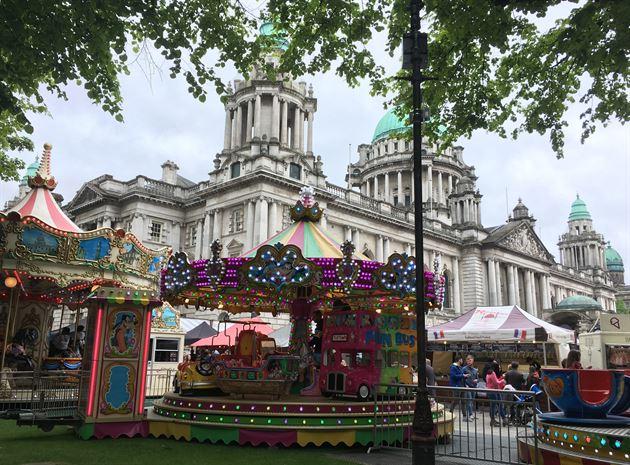 Belfast N. Ireland May 2019