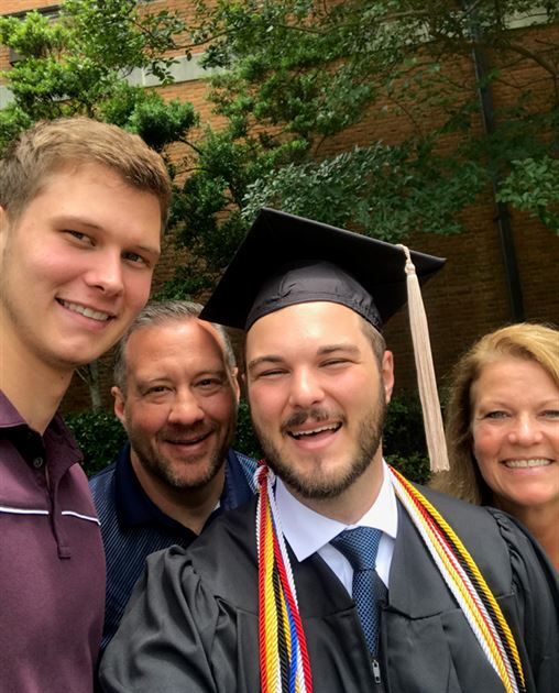 Kyle's Graduations