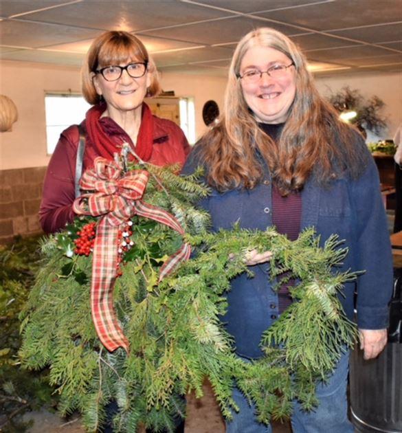 Women's Wreath Event
