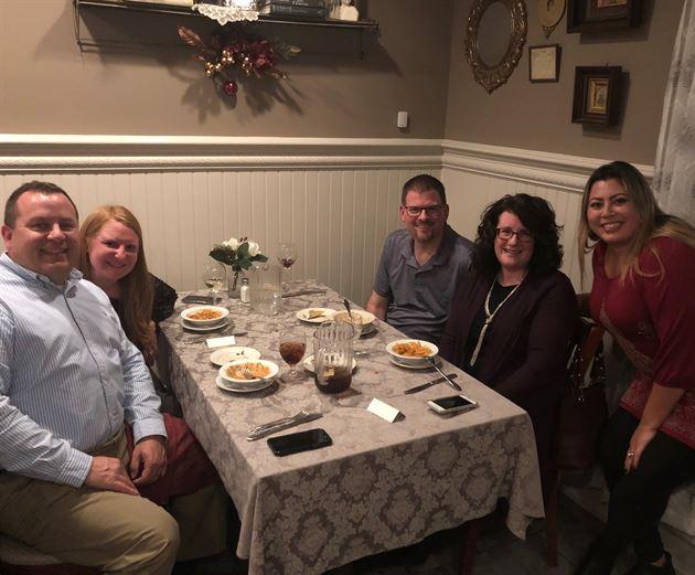 Client Appreciation Dinner 2018