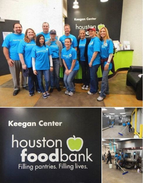 Houston Food Bank Volunteering