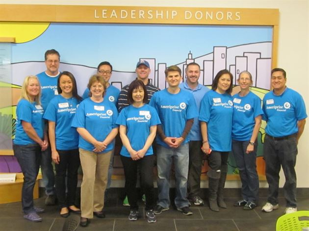 Ameriprise National Service Day